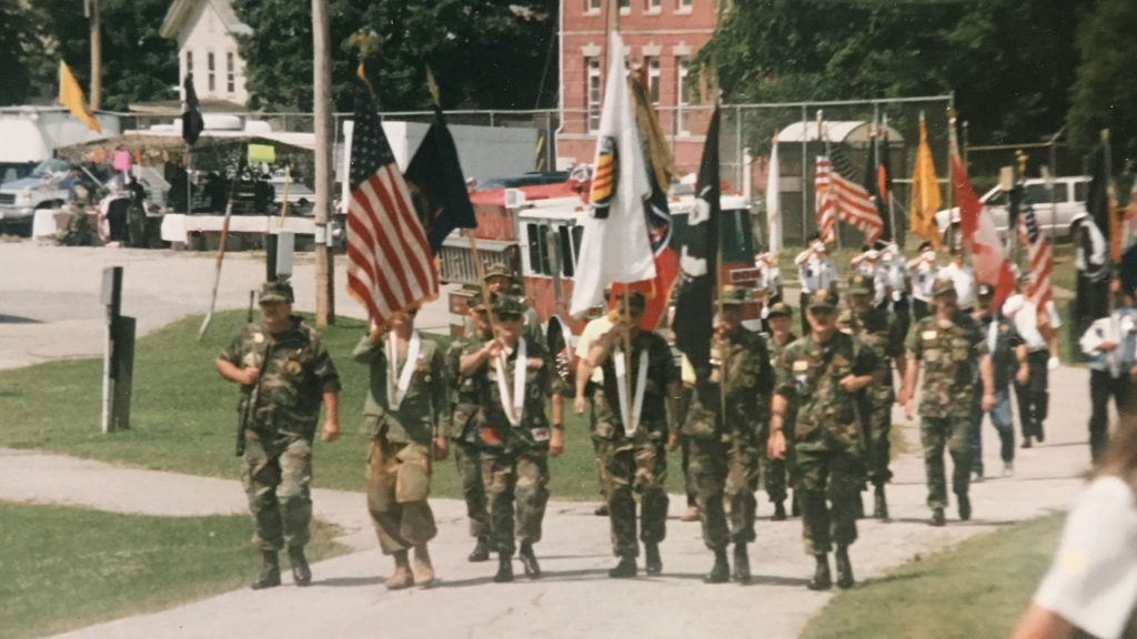 2nd Vietnam Veterans Recognition Day at Rutland Fairgrounds, 1997