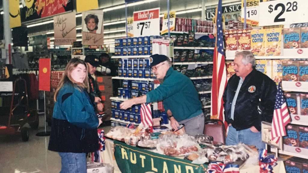 Fund-raiser at War-Mart, 1997