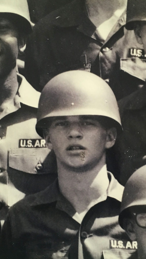 Michael Snow brother of Faie Shepard in basic training in 1960s now deceased