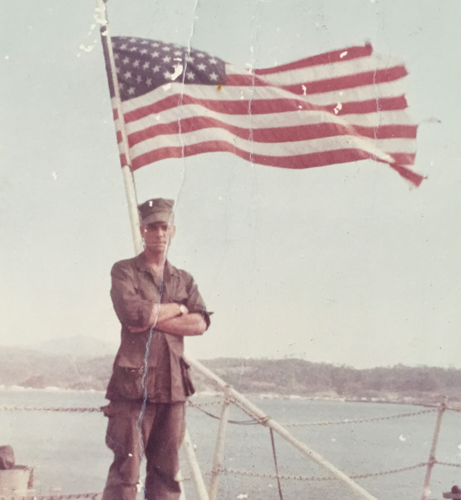 USMC Cpl. Mike Boston, 1967